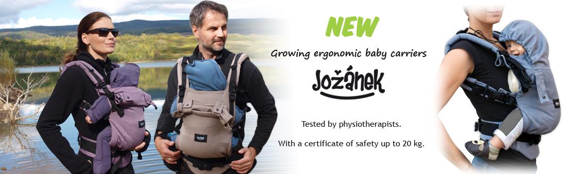 Ergonomic baby carriers