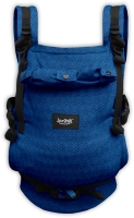 JONAS- ergonomic growing baby carrier, blue