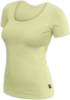BRIGITA- women´s T-shirt, short sleeves, light green