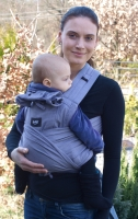 TESTER: Ergonomic growing baby carrier with binding shoulder straps BC02