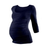 JOHANKA- maternity T-shirt, 3/4 sleeve, DARK BLUE L/XL