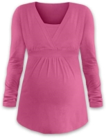 ANICKA- maternity and breast-feeding tunic, PINK