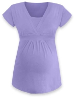 ANICKA- maternity and breast-feeding tunic, LILAC