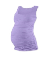 JOHANKA- T-shirt for pregnant women, no sleeves, LAVENDER S/M