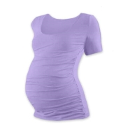 JOHANKA- T-shirt for pregnant women, short sleeves, LAVENDER S/M