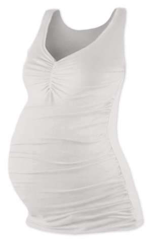 TATIANA- maternity top, ECRU