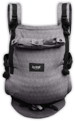 JONAS- ergonomic growing baby carrier, grey diamonds